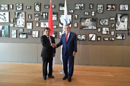 Indonesia Ready to Host 2032 Olympics: VP Kalla