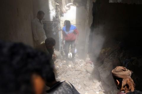 Anak-anak Tewas dalam Serangan Koalisi Saudi di Yaman