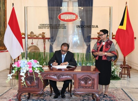 Indonesia, Timor Leste Vow to Strengthen Bilateral Cooperation