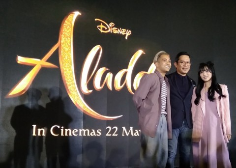 Alasan Disney Indonesia Pilih Gamaliel dan Isyana Nyanyikan A Whole New World