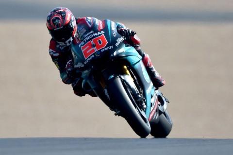 MotoGP Prancis: Rantai Motor Rossi Lepas,  Quartararo Tercepat di FP1