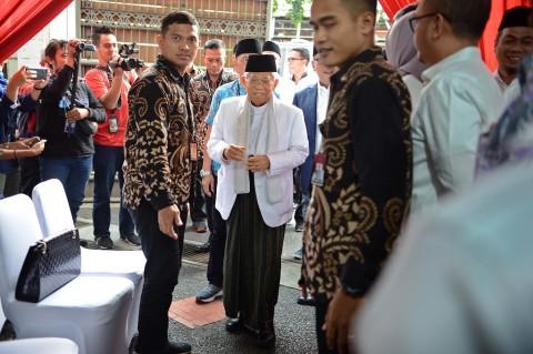 Kiai Ma'ruf Heran dengan Sikap Tim Prabowo-Sandiaga