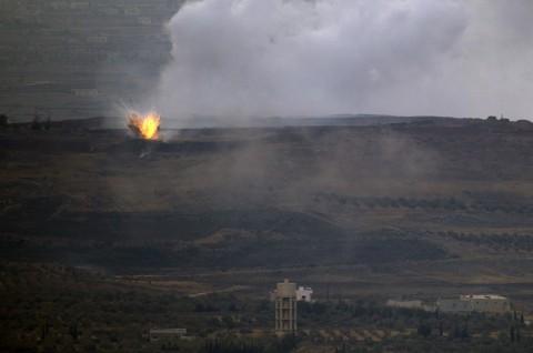 Suriah Tembak Jatuh Proyektil dari Israel di Golan