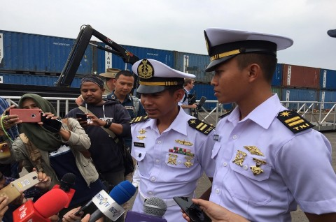 Cerita Dua Perwira Muda RI di Kapal Australia