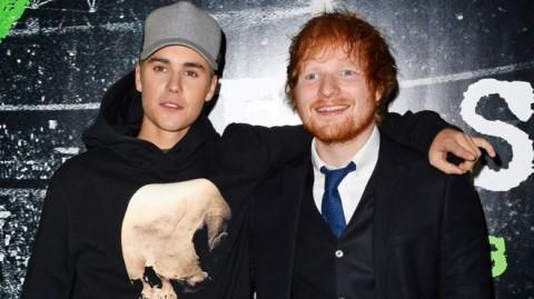 Duet Ed Sheeran dan Justin Bieber Terpopuler di Inggris