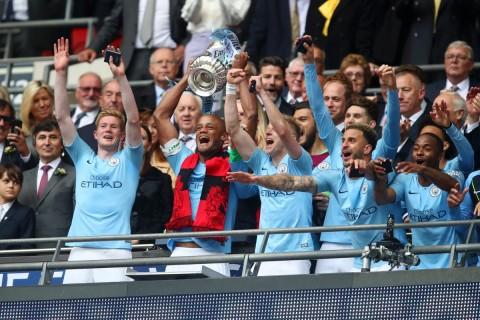 Pesta Gol ke Gawang Watford, Manchester City Juara Piala FA