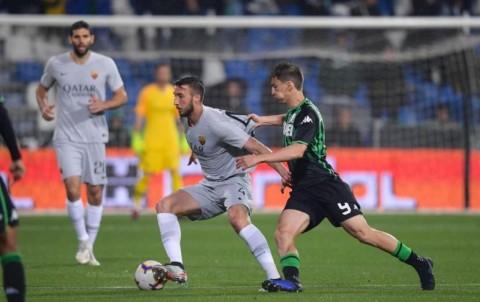 Tahan Imbang Sassuolo, Roma Makin Sulit Tembus Zona Liga Champions