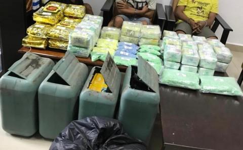 BNN Bongkar Penyelundupan 50 Kg Sabu di Dumai