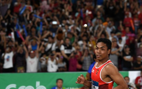 Finis Posisi Ketiga di Kejuaraan Jepang, Zohri Lolos ke Olimpiade 2020