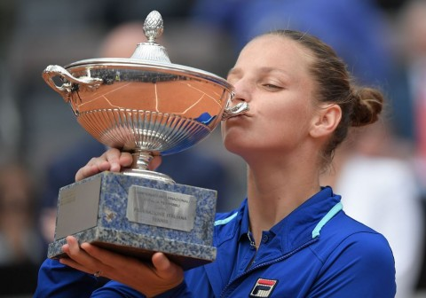 Karolina Pliskova Jegal Konta di Final Italian Open
