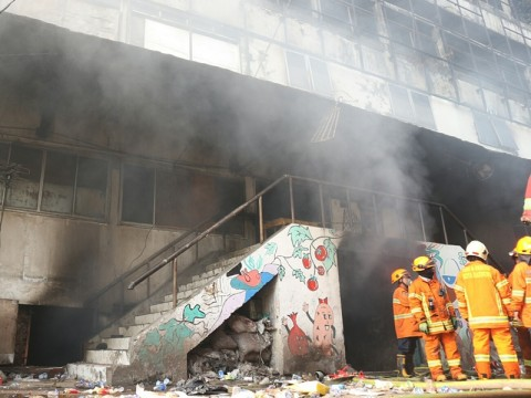 Api Kembali Menyala di Pasar Kosambi