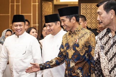 Jokowi Buka Puasa Bersama Partai Golkar