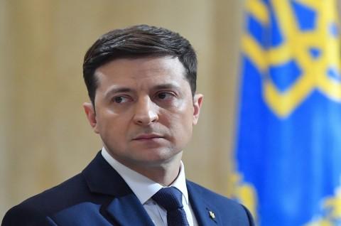 Komedian Dilantik Jadi Presiden Ukraina Senin Ini