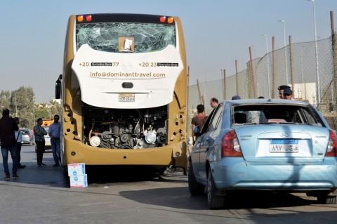 Ledakan Bom Hantam Bus Pariwisata di Mesir, 17 Orang Terluka