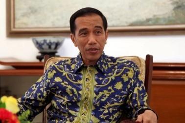 Jokowi Resmikan Bendungan Rotiklot