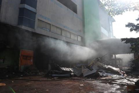 Kerugian Pasar Kosambi Masih Dihitung