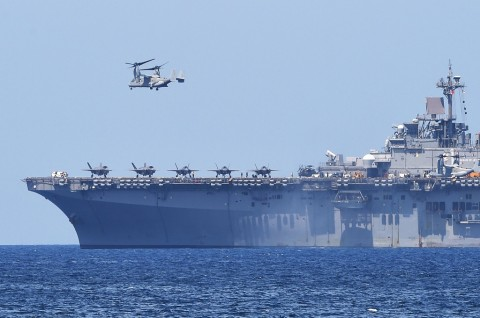 Kapal AS Berlayar Dekat Laut China Selatan
