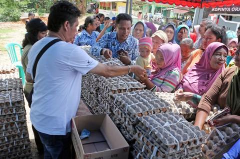 Jelang Lebaran, Operasi Pasar Murah Digelar di Sejumlah Daerah