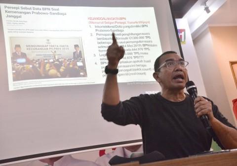 Prabowo dan Tim Diyakini Nihil Bukti Kecurangan