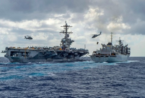 Pasukan Khusus Inggris Bergabung Armada AS di Teluk Persia