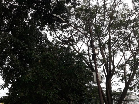 Dishub Kota Tangerang Cek Penerangan Jalan di Jalur Mudik