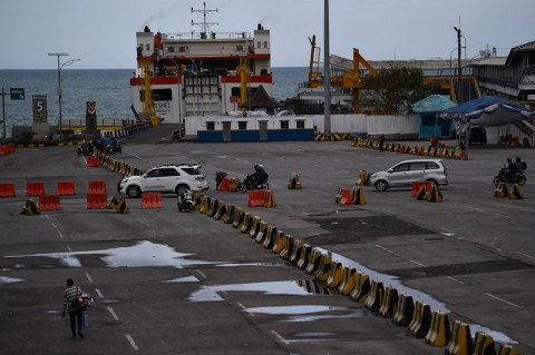 Pelabuhan Merak Siapkan Dermaga Khusus Untuk Pemudik Sepeda Motor