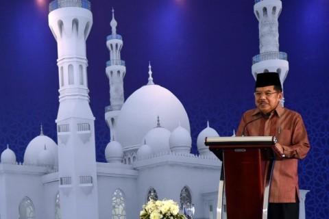 JK Imbau Masjid Tak Menjadi Tempat Pertentangan Politik