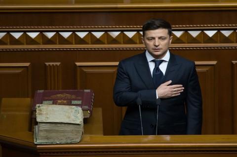 Presiden Ukraina Tidak Mau Fotonya Dipajang di Parlemen