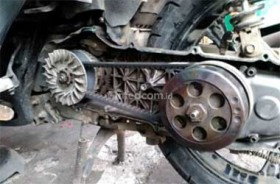 Cek Berkala V-Belt Motor Matic Sebelum Mudik