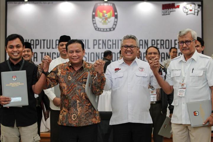 KPU Tetapkan Jokowi-Amin Pemenang Pilpres 2019