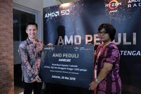 AMD Sumbang Teknologi ke Sekolah di Sulawesi Tengah