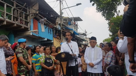 Jokowi Gives Thanks after Election Win