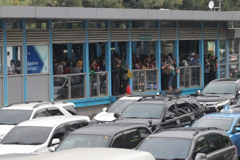 Alur Perjalanan Bus Transjakarta Direkayasa