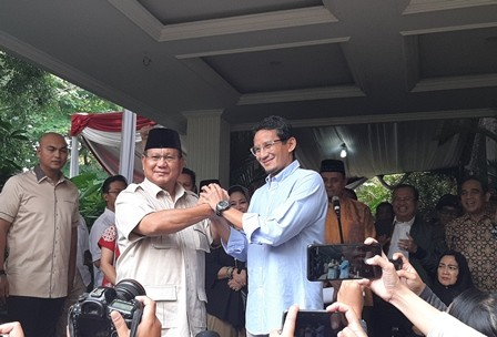 Prabowo Rejects Election Result