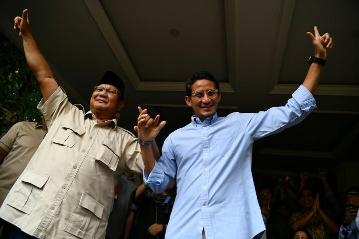 Prabowo-Sandi Akan Gugat Hasil Pilpres ke MK