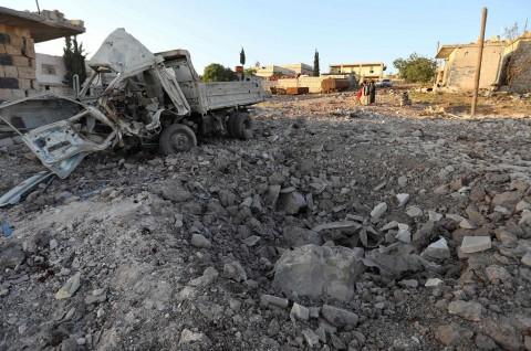 AS Duga Suriah Lancarkan Serangan Kimia di Idlib