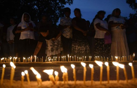 Kenang Korban Pengeboman, Warga Sri Lanka Gelar Doa Bersama