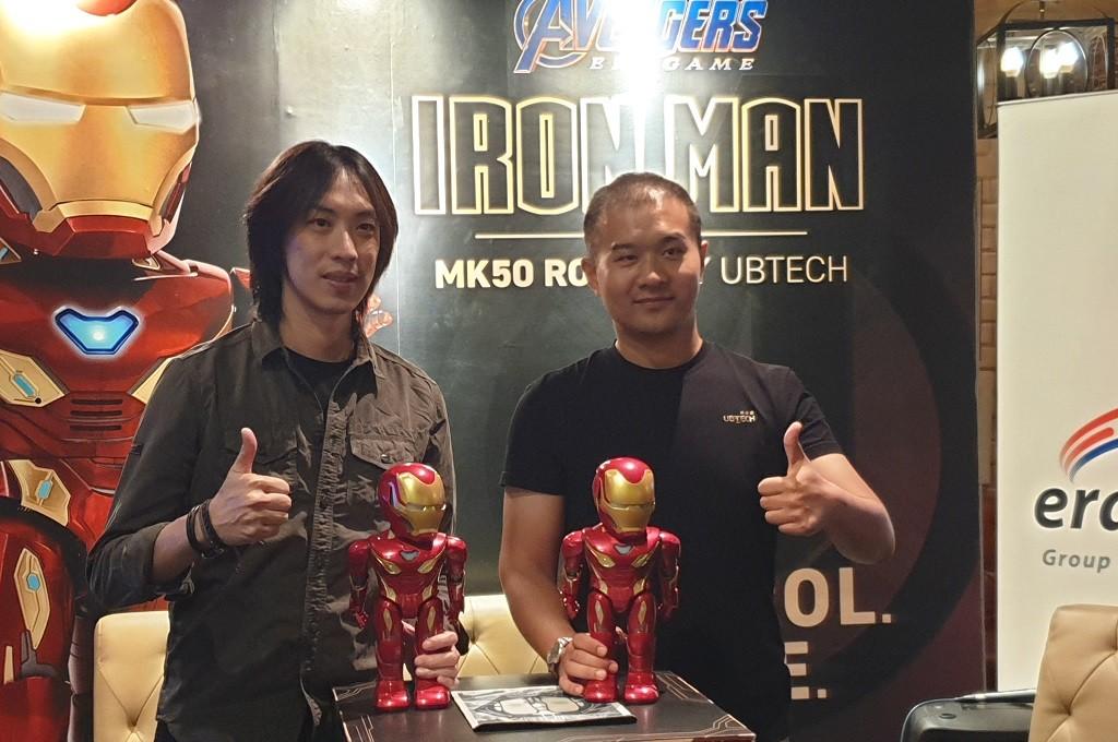 Menggandeng Erajaya, UBTech Robotics memboyong robot Iron Man MK50 di Indonesia.