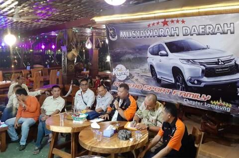 Pajero Sport Family Lampung Pilih Ketua Baru