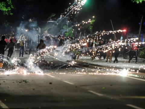 Media Asing Soroti Kericuhan Protes Hasil Pemilu RI