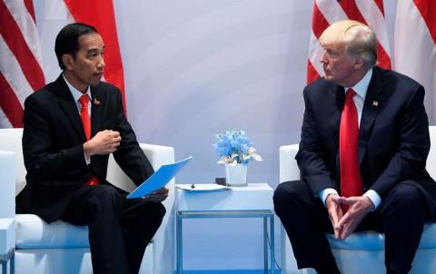Surati Jokowi, Trump Ucapkan Selamat