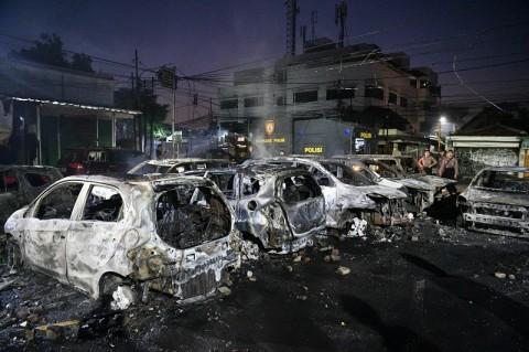 Polri: Kerusuhan di Petamburan <i>Settingan</i>