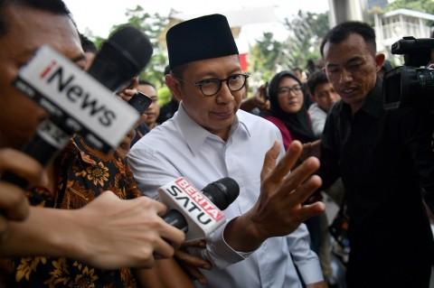 Menteri Lukman Banyak Minta Maaf Usai Diperiksa KPK