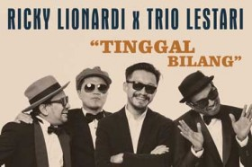 Ricky Lionardi Gandeng Trio Lestari Lepas Singel Baru