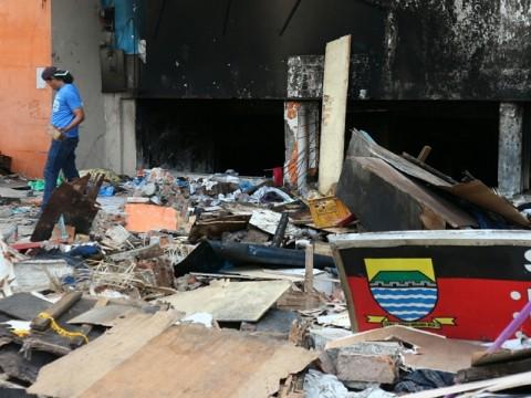 Penampungan Sementara Pasar Kosambi Dibangun Besok