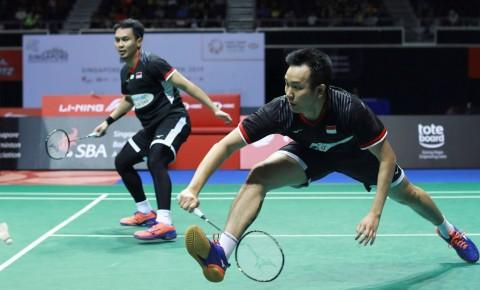 Daftar Pebulu Tangkis Indonesia vs Denmark