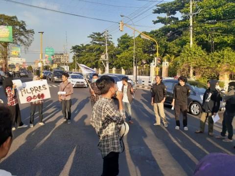 Mahasiswa Yogyakarta Tolak Gerakan Inkonstitusional