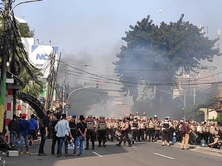 Belasan Remaja Diamankan Polisi Saat Hendak ke Jakarta