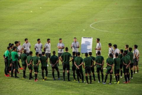 Timnas Indonesia Menggelar Pemusatan Latihan di Cikarang