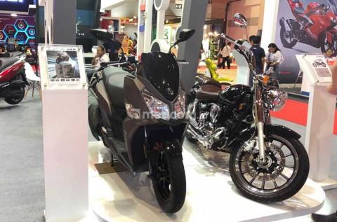 Skutik Anyar dan Motor Cruiser 250 SYM, Meluncur di Jakarta Fair